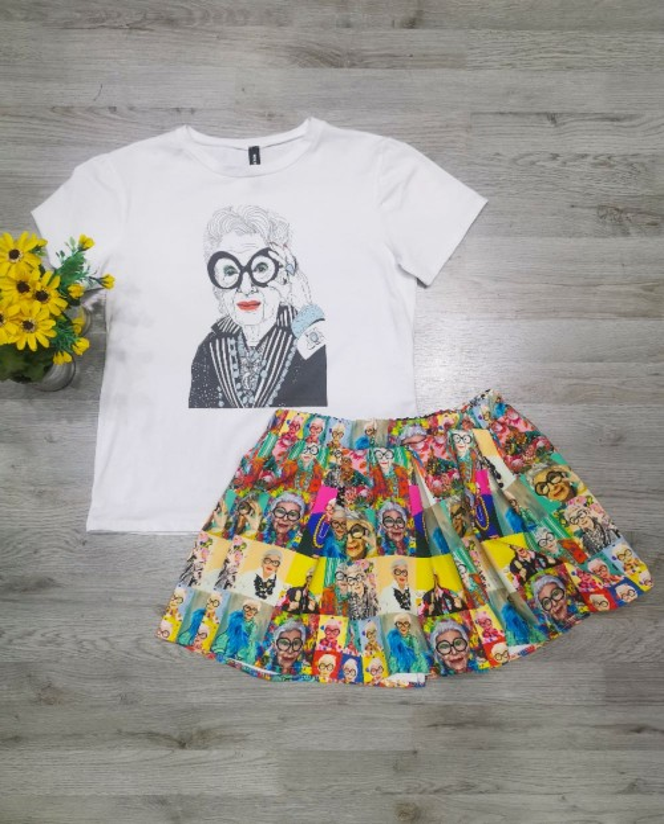 T-shirt Iris Apfel