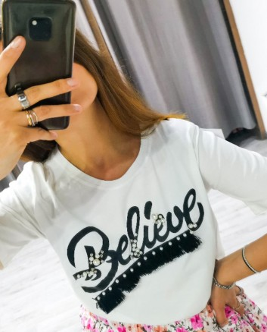 T-shirt Believe