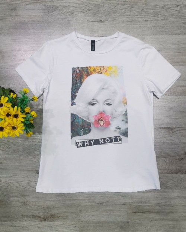 T-shirt Marilyn Fiore