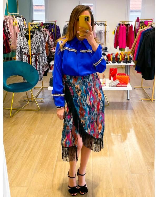 Pantalone 3/4 con Cintura